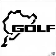 Golf Nürburgring matrica