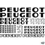 Peugeot matrica szett