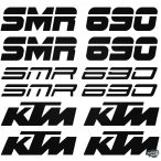 KTM 690 SMR szett matrica