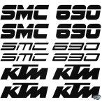 KTM 690 SMC szett matrica