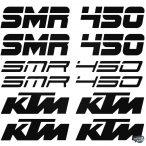 KTM 450 SMR szett matrica