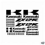 Kawasaki ZX12R szett matrica