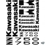 Kawasaki Z750 szett matrica