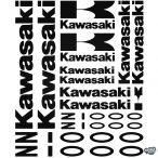 Kawasaki Z1000 szett matrica