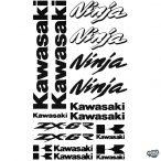 Kawasaki ZX6R szett matrica