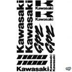 Kawasaki 1100 GPZ szett matrica