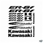 Kawasaki ER-6F szett matrica