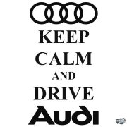 AUDI matrica Keep Calm