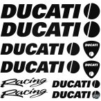 DUCATI Racing szett matrica