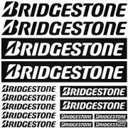 Bridgestone szett - Szélvédő matrica