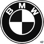 BMW logó matrica 10