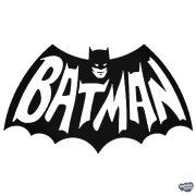 Régi Batman logó és felirat Autómatrica