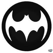"""Régi Batman logó """"1"""" Autómatrica"""