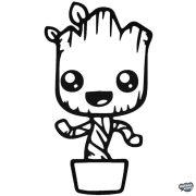 Baby Groot fa Autómatrica
