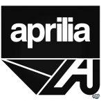 Aprilia Motor logó matrica