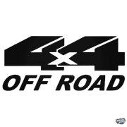 """4x4 OFF ROAD """"15"""" - Szélvédő matrica"""
