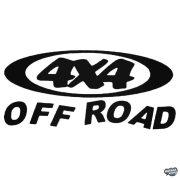"""4x4 Off Road """"16"""" - Szélvédő matrica"""