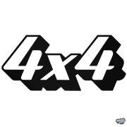 """4x4 """"10"""" - Szélvédő matrica"""