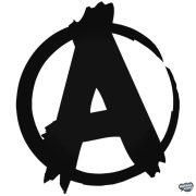 """Anarchy Jel - Szélvédő matrica """"2"""""""