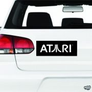 ATARI logó matrica