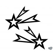"""Csillag szett """"3"""" Matrica"""