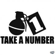 "Take a number ""1"" Autómatrica"