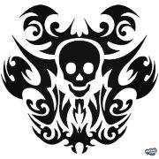 Koponya tetoválás Autómatrica