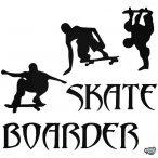 Skate Boarder matrica