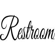 Restroom felirat Autómatrica