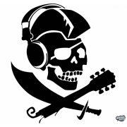 Punk-Kalóz koponya Autómatrica