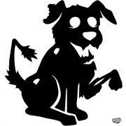 Zombi kutyus matrica