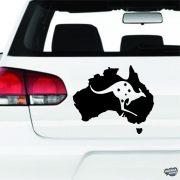 Ausztrál Kenguru matrica