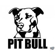 "Pit Bull ""1"" matrica"