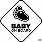 Baby on Board tappancska autómatrica