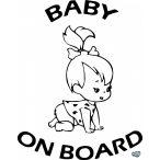 Baby on Board Flinstones autómatrica