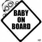 Gru Minion Baby on Board autómatrica