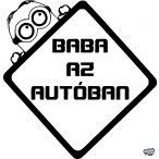 Gru Minion Baba az autóban