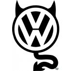 VW matrica ördög