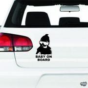Vagány Baby on Board autómatrica