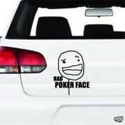 Bad Poker Face Autómatrica
