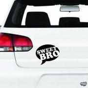 Sweet Bro szövegbuborék - Autómatrica