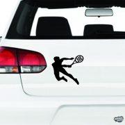Teniszező férfi matrica