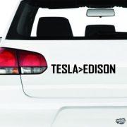 Tesla jobb mint Edison