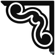 Sarokdísz 5 matrica